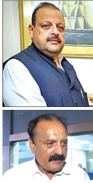 Rana, Salathia quit National Conference; reach Delhi