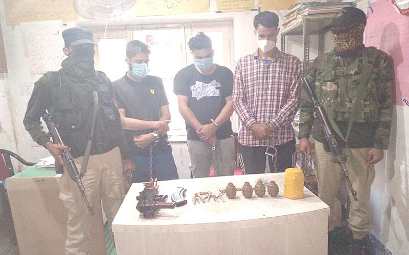 3 held in Kulgam: Police