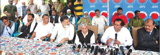 Quit electoral politics, support PC to consolidate Muslim votes in J&K: Lone to Farooq Abdullah