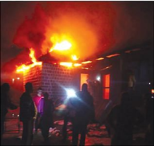 House gutted at GawKadal