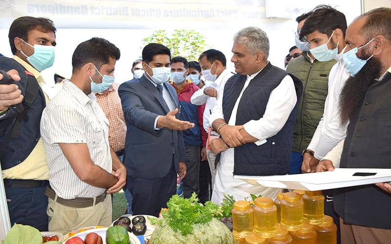 Union Minister Bhupender Yadav visits Bandipora