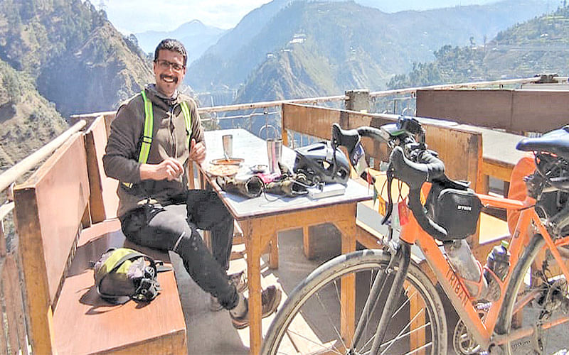 K2K cycling expedition for a noble cause