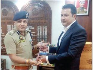 Sujit Kumar assumes charge as DIG Central Kashmir range