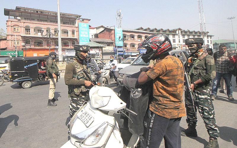 Security intensified across Srinagar