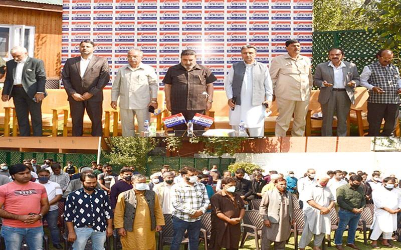 Apni Party passes resolution condemning recent civilian killings