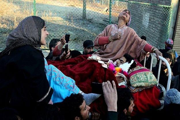 A Kashmiri Mother Grieves