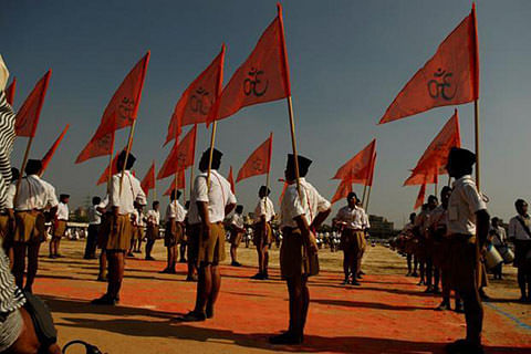RSS censures BJP for 'compromise' on AFSPA, Art 370