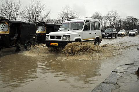 Rains inundate City areas again
