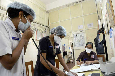 10,000 infected across India