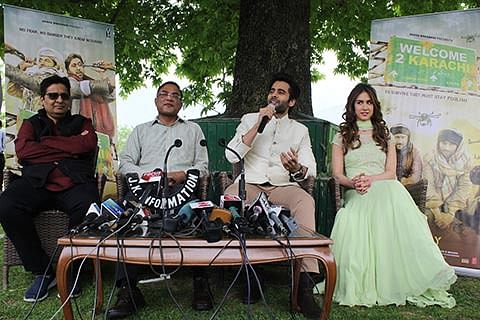 Welcome 2 Karachi's promotion launched in Srinagar