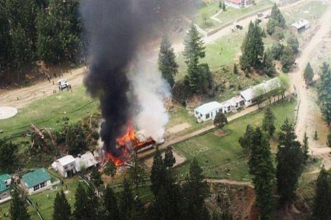 Pak says chopper lost control