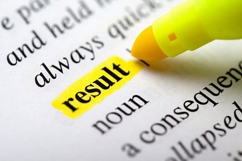 12th class results out; 55 per cent qualify the examination