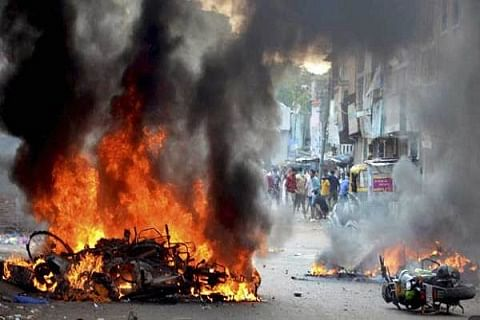 Communal clash in Lucknow, security beefed up