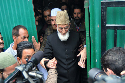 'Not an Indian by birth', Geelani says getting Indian passport 'compulsion'