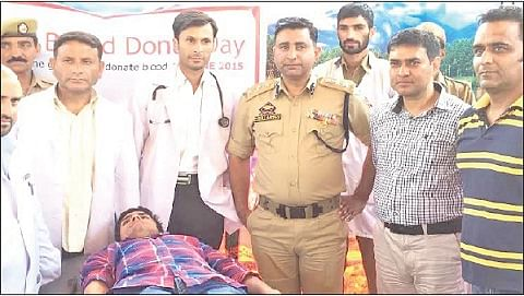 Blood donation camp held in Budgam