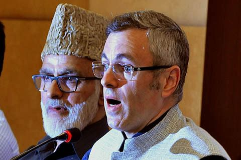 Statement Row  Omar chairs crucial NC meet, reprimands party men