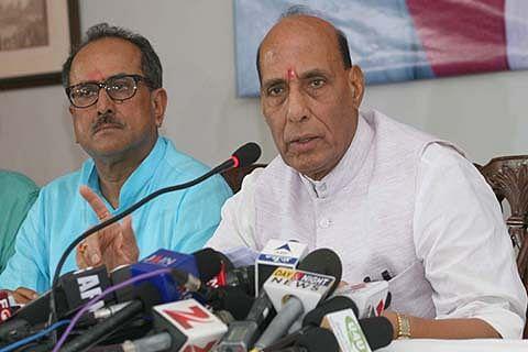 Rajnath's 2-day Kashmir visit begins today