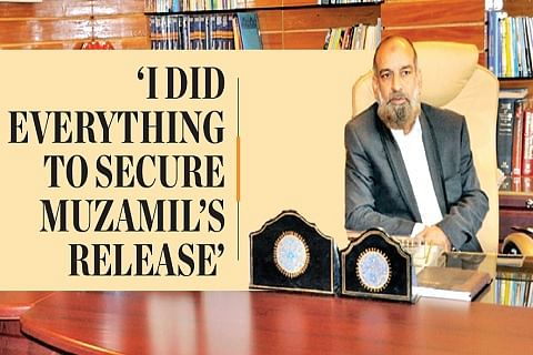 """'I did everything to secure Muzamil's release"""""""