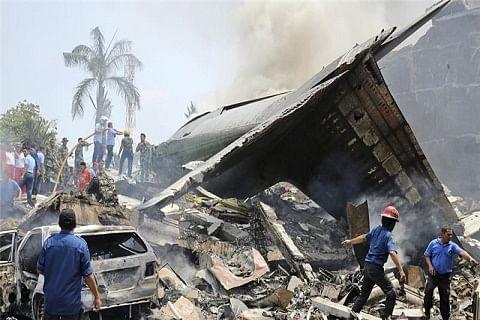 Indonesian military plane crash toll rises to 141