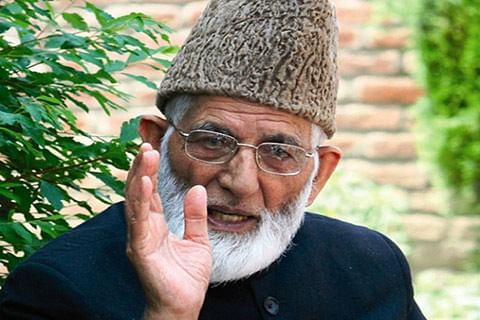 Geelani vows to resist settlement of retired soldiers in Kashmir