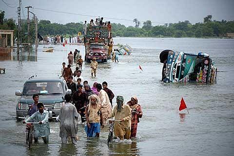 Pak flood toll 46