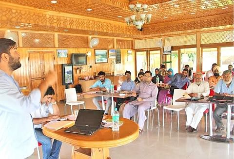 JKRM holds workshop for RTI trainers