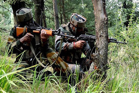 2 militants, soldier killed in North Kashmir: Army