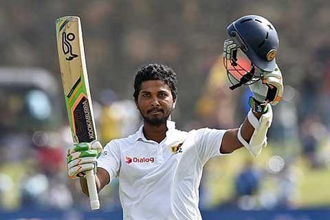 Chandimal hits ton; India chase 176
