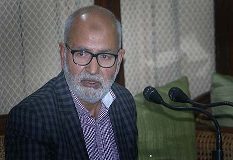 Naeem inspects edu institutions in Thanamandi
