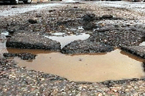 Wanabal-Humhama road dilapidated