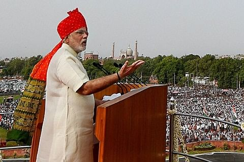Modi's Independence-Day announcements
