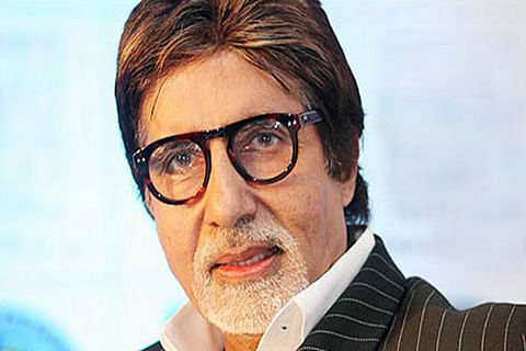 """Big B celebrates Poet's day """"under the shadow of"""" his father"""
