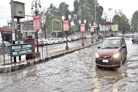 Rains cause water-logging in city areas