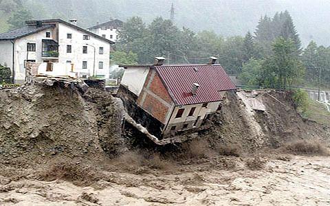 Landslide damages 40 houses in Kathua