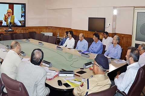 PM holds PRAGATI video-conference with Chief Secretaries