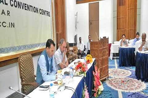 Tourism Secy holds maiden review meeting