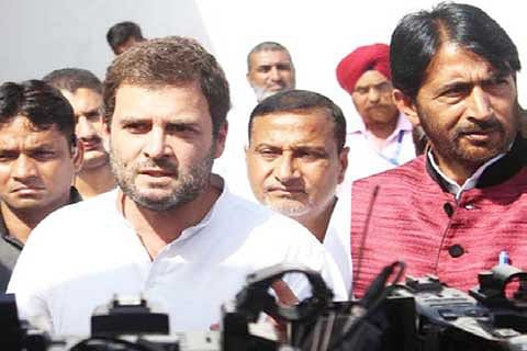 Rahul hits out at PM Modi for breaking poll promises