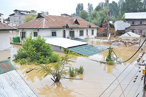 FLASHBACK| When floods submerged GK office