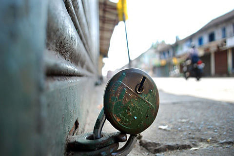 Shutdown called by traders affects life in Kashmir