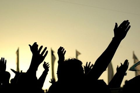 Police cane charge Kashmir students in Chandigarh