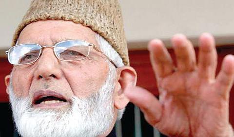 "On VHP's blockade threat, Geelani appeals Int""l community to help Kashmiris"