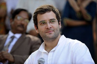 "Land bill row: Modi's ""Make in India"" is ""Take in India"", says Rahul"