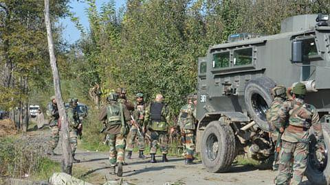 Three militants killed, two soldiers injured in Kulgam gunfight: police