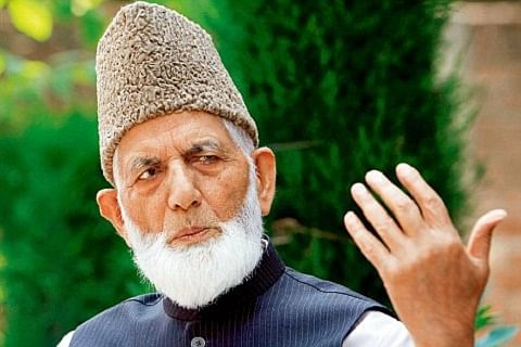 """Geelani calls for parallel """"million march"""" to counter Modi's Nov 7 Kashmir rally"""