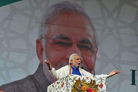Modi echoes Vajpayee