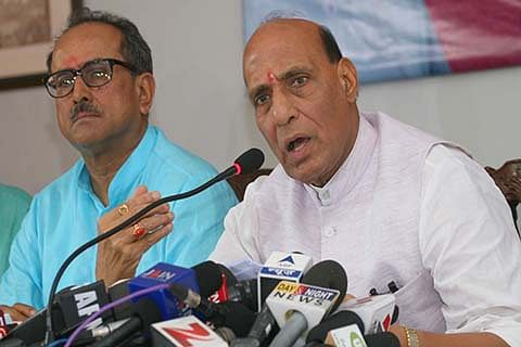 India wants cordial relations with Pakistan: Rajnath