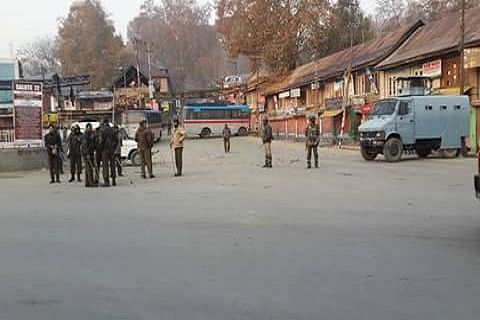 Businesses closed, public transport suspended as COVID-19 restrictions imposed in Budgam