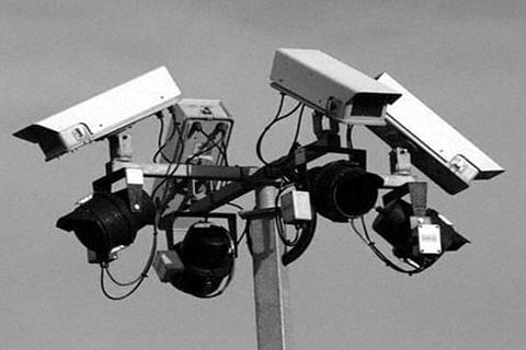 IP camera installed at Jammu warehouse