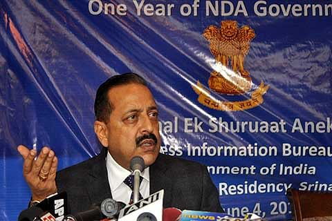Govt to study pay panel report in right perspective: Dr Jitendra