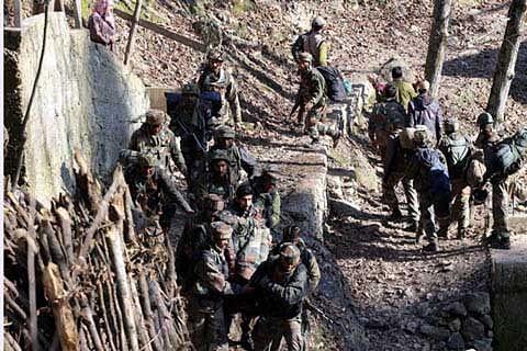 50 to 60 militants active in north Kashmir: GOC